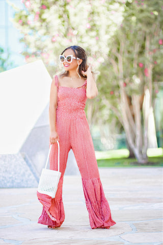 Gianna Ruffle Jumpsuit
