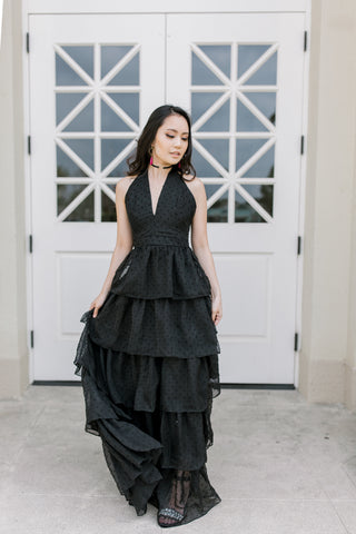 Sasha Ruffle Dress