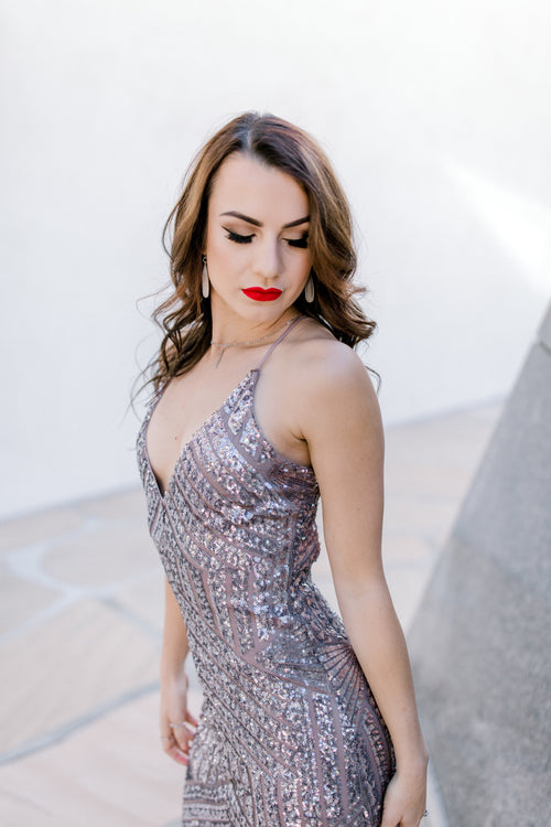 Bella Sequin Gown