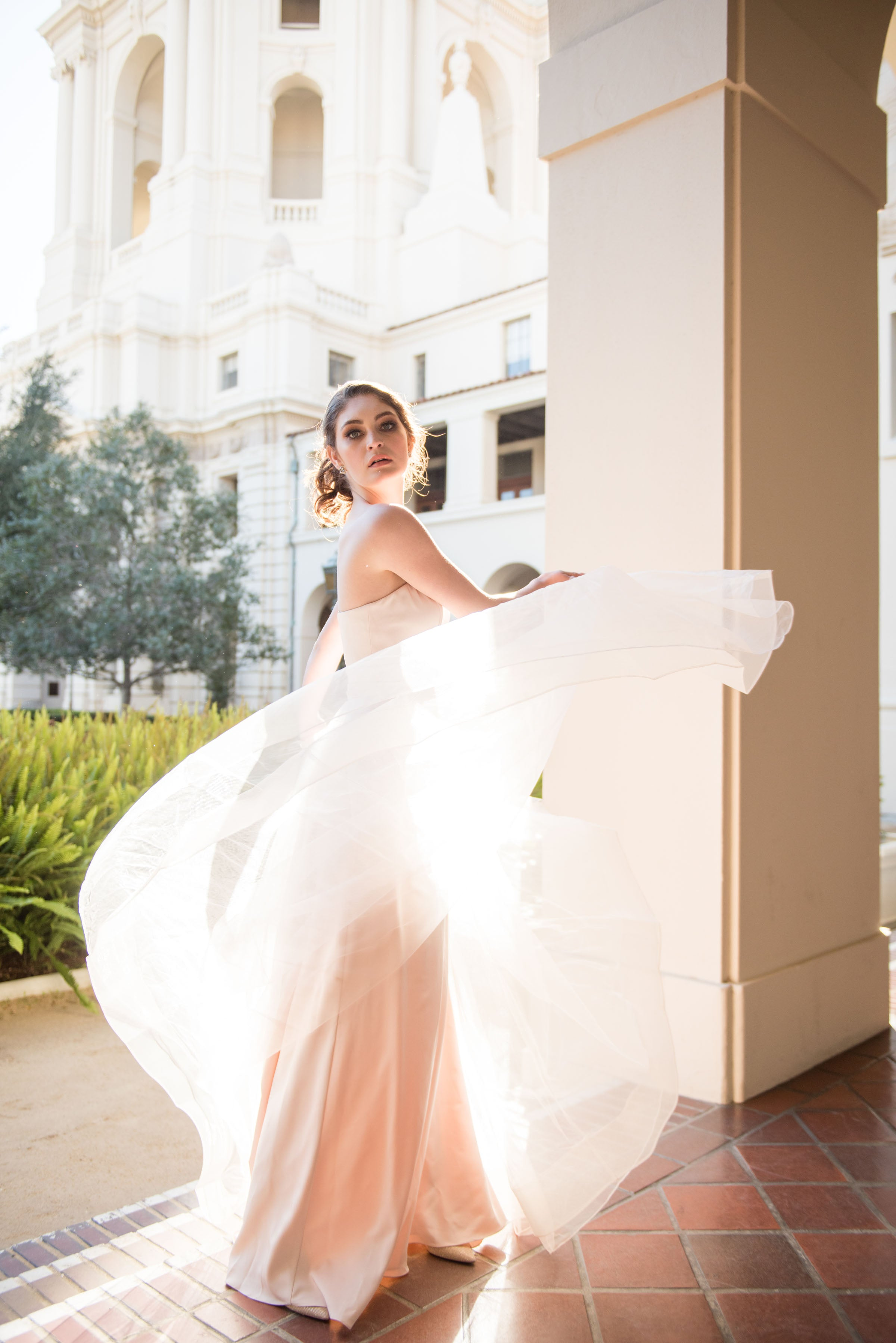 Layla Sweetheart Tulle Gown - Blush Elegance