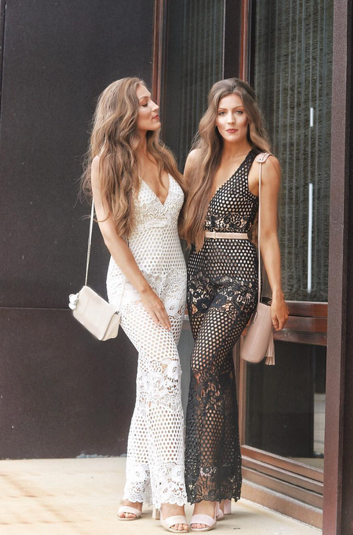 Tina Lace Jumpsuit