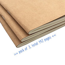 Travelers Notebook Inserts Lined 3-Pack