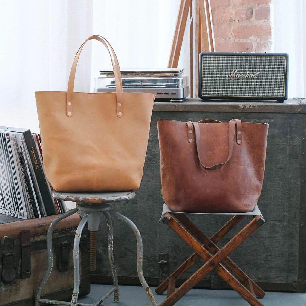 Tote before and after