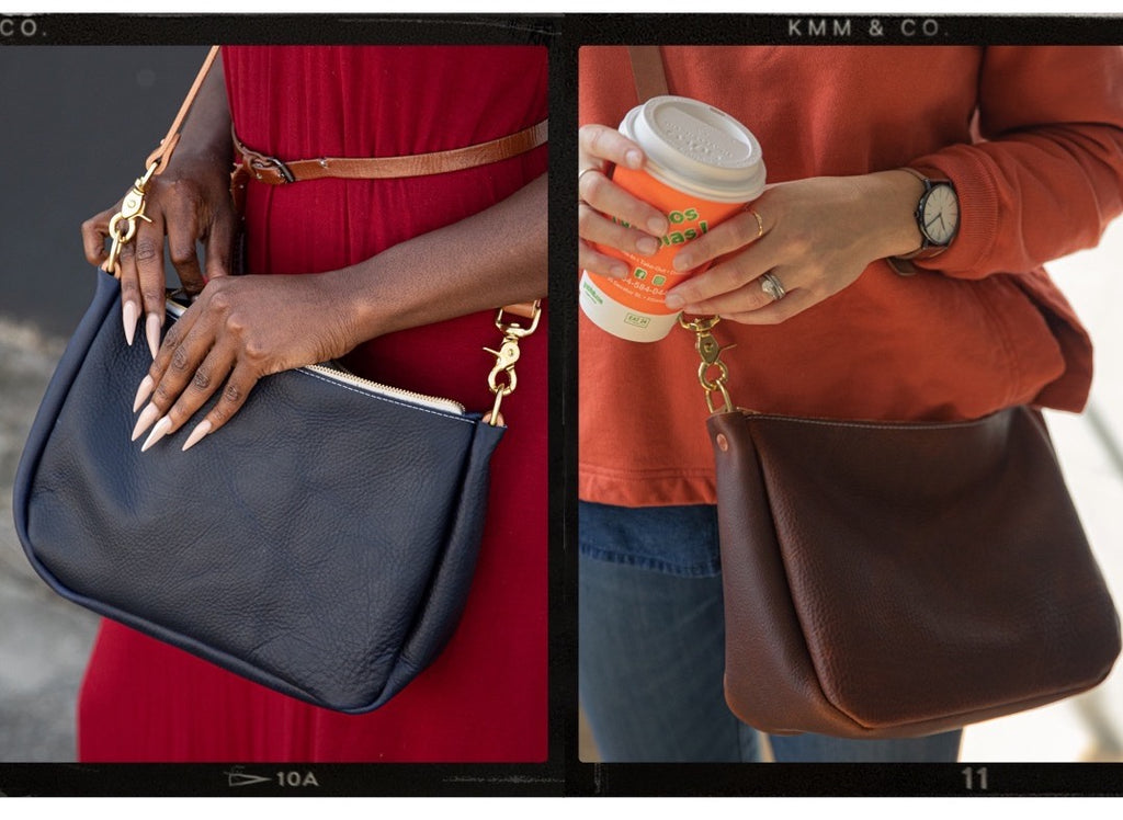 KMM & Co. leather crossbody bags | crossbody purses