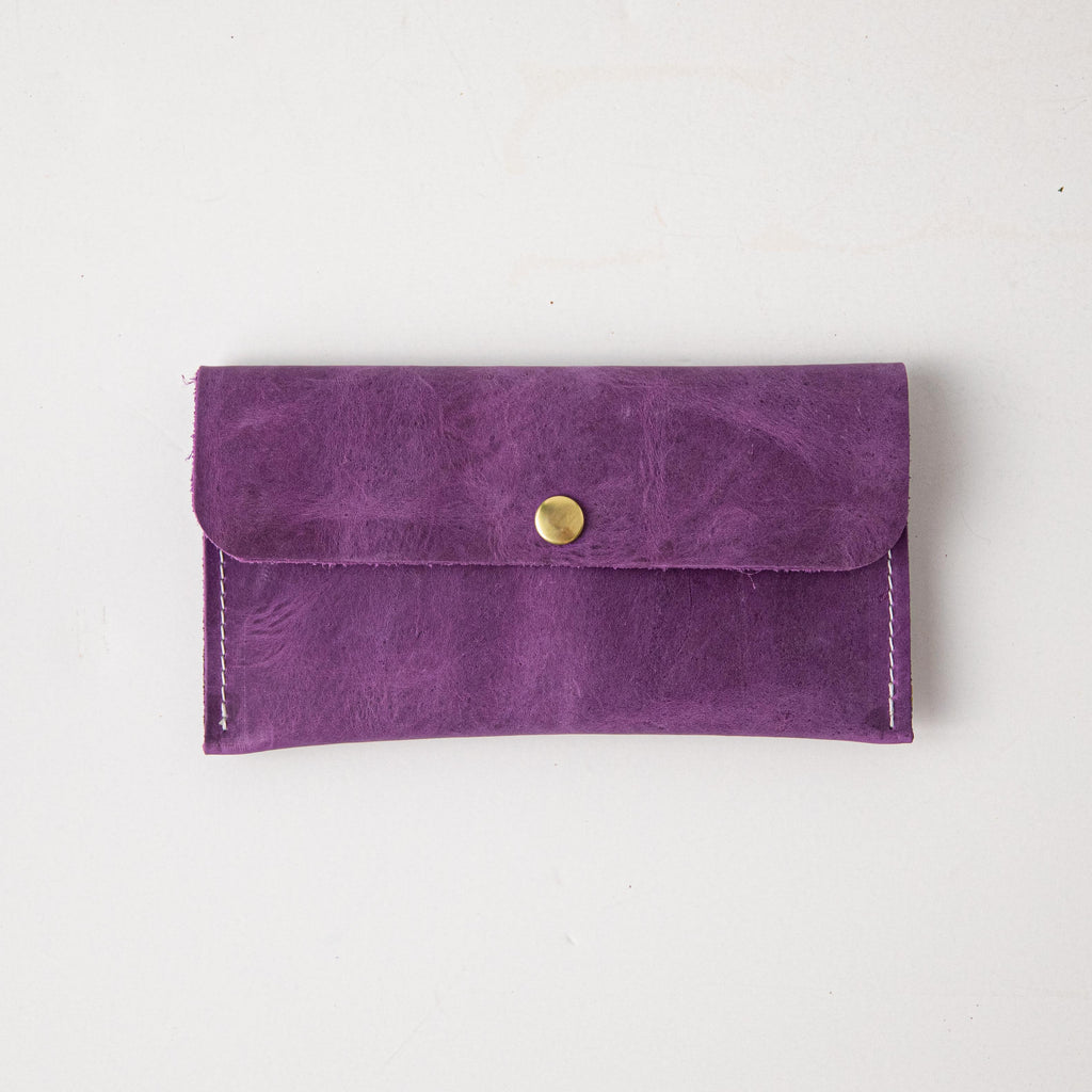 Storm Grey Clutch Wallet