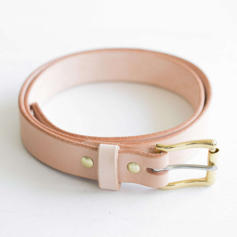 "1.25"" Vegetable Tanned Belt"