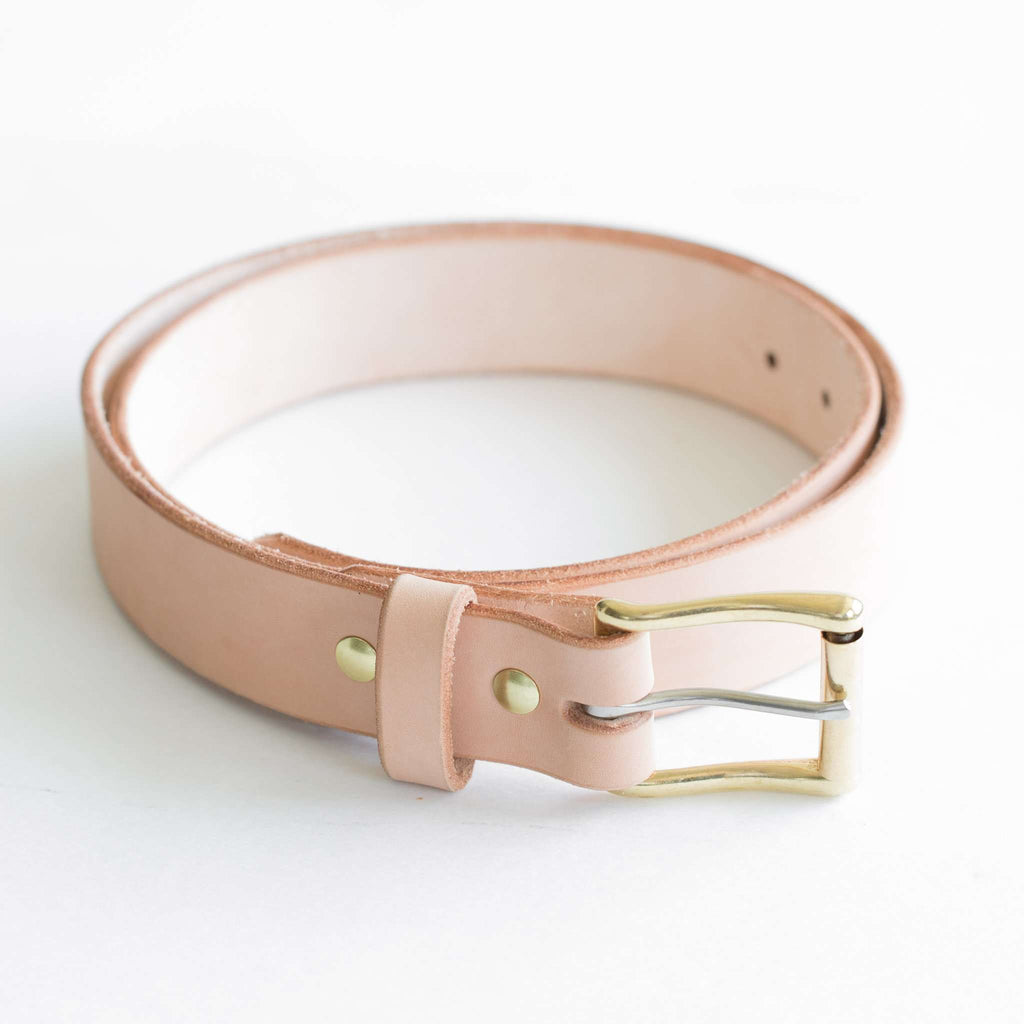 "1.5"" Vegetable Tanned Belt"