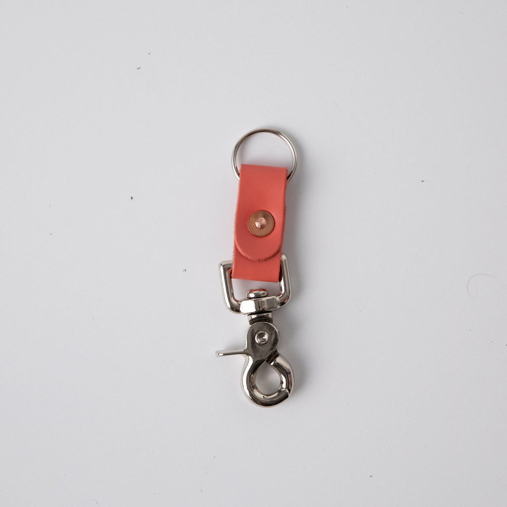 Coral Pink Key Clip