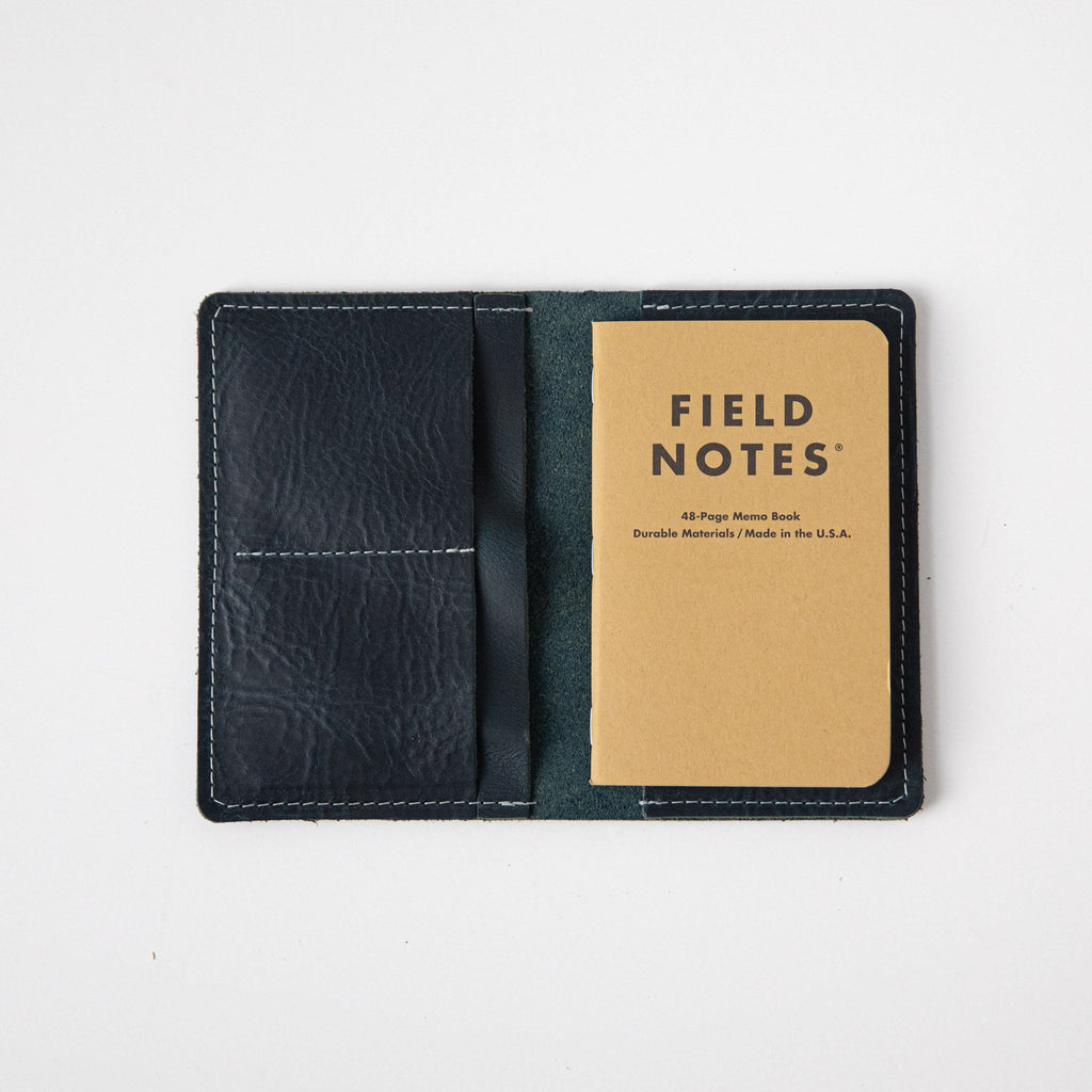 Petrol Blue Passport Wallet