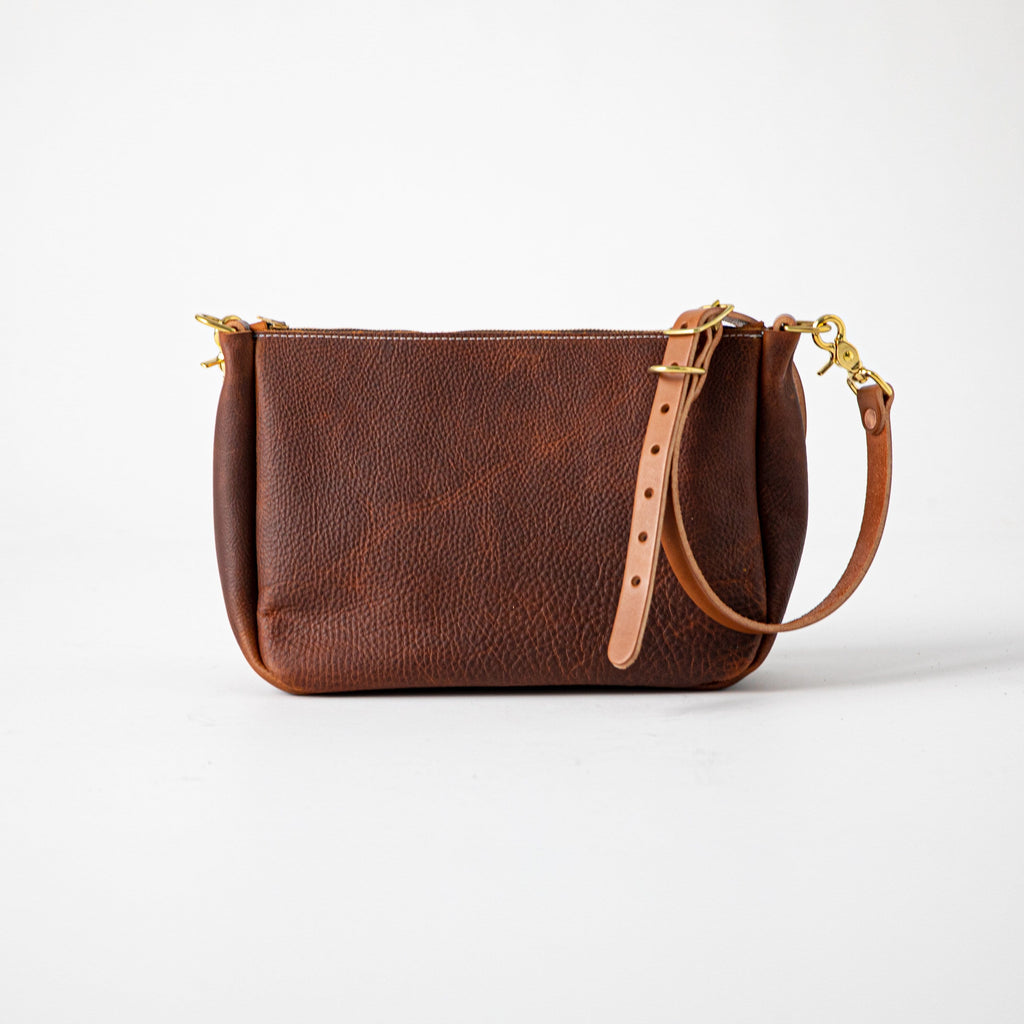 Tan Kodiak Crossbody Bag