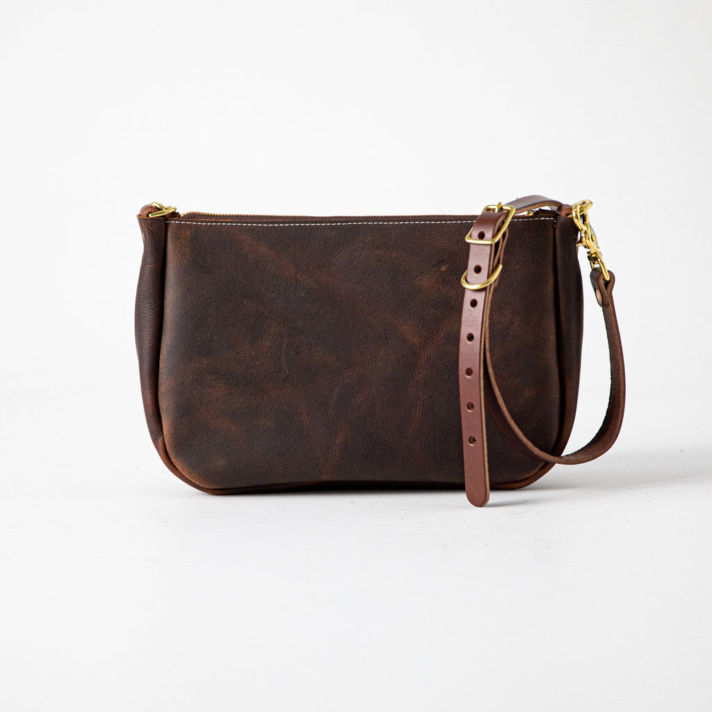 Brown Kodiak Crossbody Bag