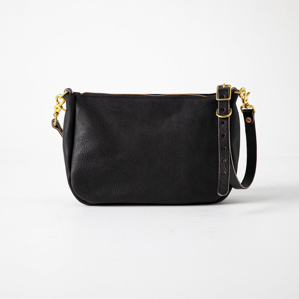 Black Kodiak Crossbody Bag