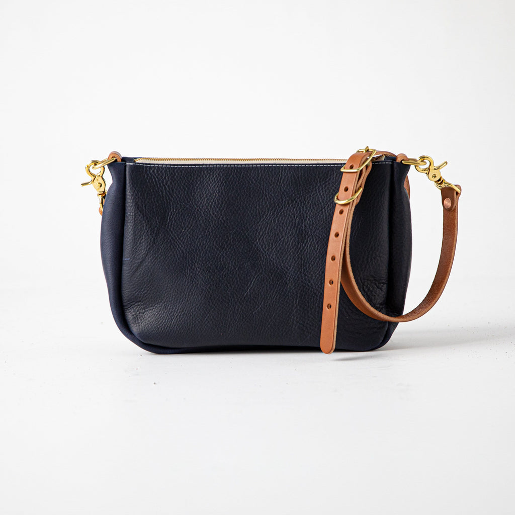 Navy Kodiak Crossbody Bag