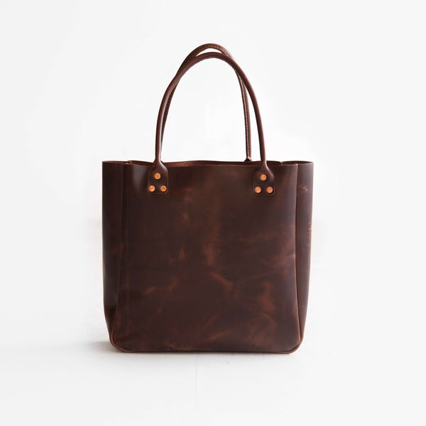 The Oxblood Carryall Tote