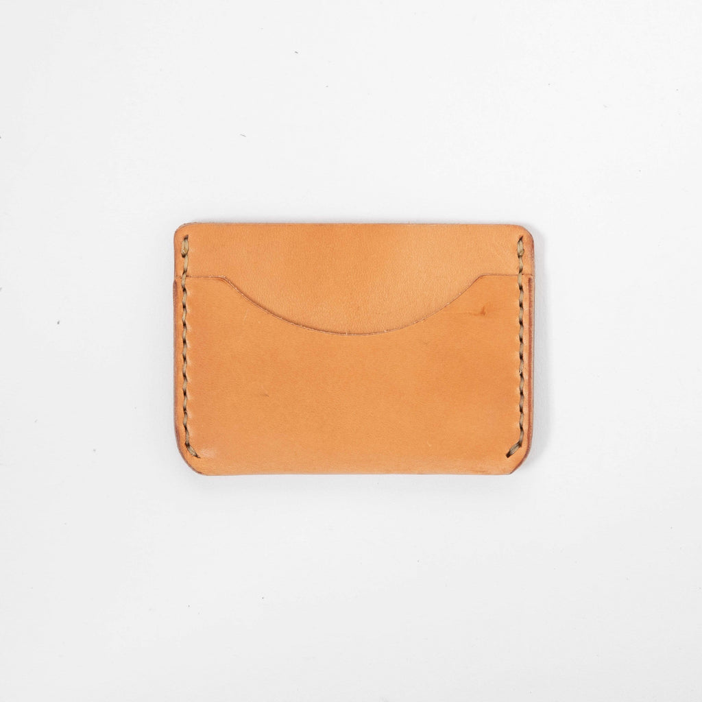 Russet Card Case- mens leather wallet - leather wallets for women - KMM & Co.