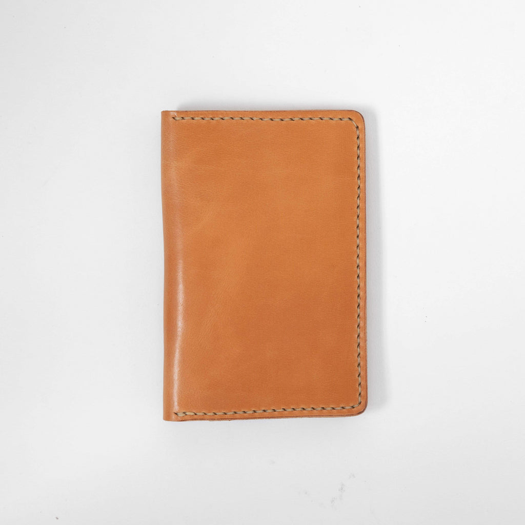 Russet Notebook Wallet- leather notebook cover - passport holder - KMM & Co.