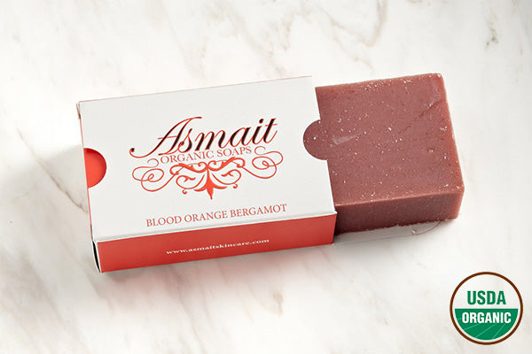 Organic Blood Orange Bergamot Soap