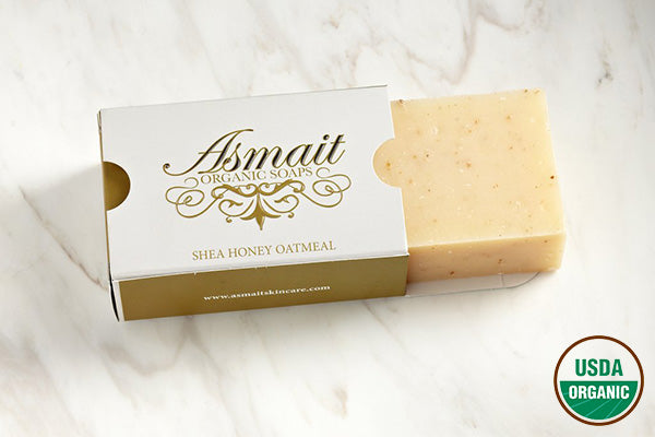 Organic Shea Honey Oatmeal Soap