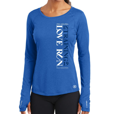 Love Run Philadelphia Half Marathon,Long Sleeve,Women's