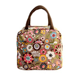 Thermal Insulated Tote Picnic Lunch Cool Bag Cooler Box Handbag Pouch