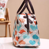 Portable insulated Picnic Lunch Bag Tote Zipper Organizer LunchBox