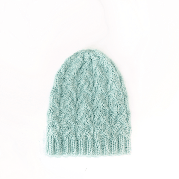 SwellKnits: Cable Knit Hat - Ocean Waves Beanie