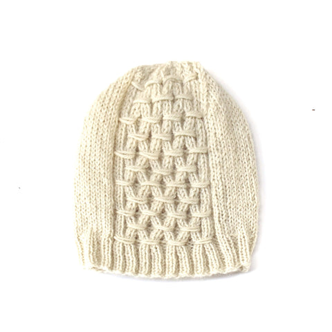 SwellKnits: Gathered Knit Winter Hat