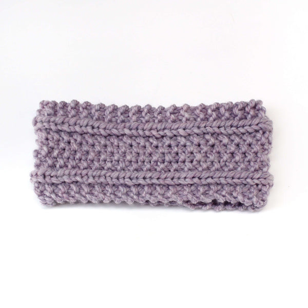 SwellKnits: Textured Knit Ear Warmer Headband