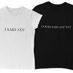 COVID Wedding T-shirt