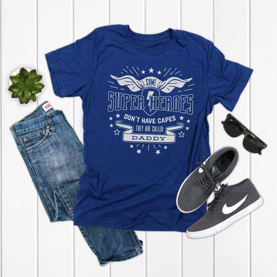 Fathers are superheroes shirt for dad for fathers day | 721 Done - 721 Done