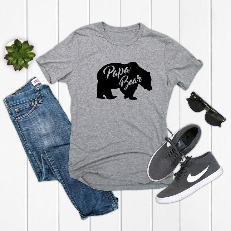 Papa Bear tshirt for dad, papa, or grandpa | 721 done
