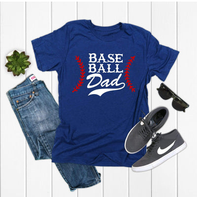 Baseball Dad T-shirt | Baseball shirts for fathers, Game day t-shirts - 721 Done