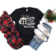 Christmas movies and hot chocolate kind of day christmas t-shirt - 721 Done