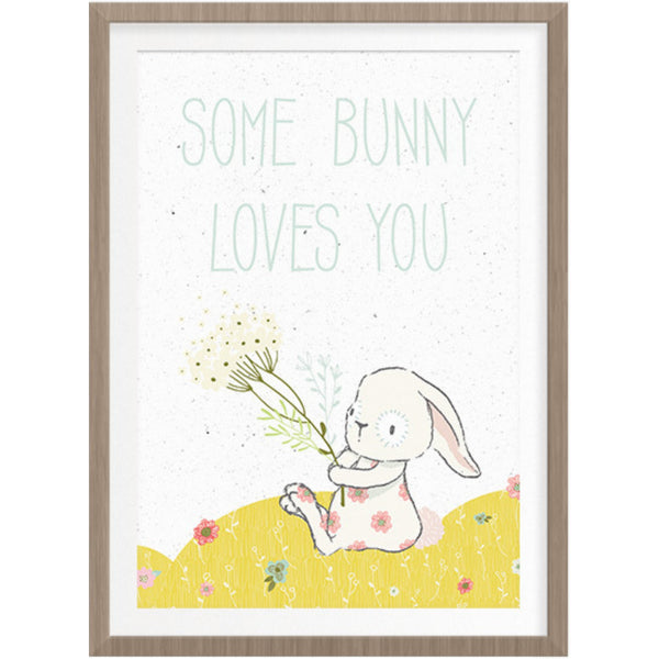 Some Bunny Loves You Printable Wall Art