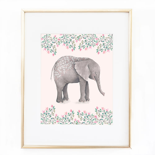 Ellie Elephant Printable Art Download