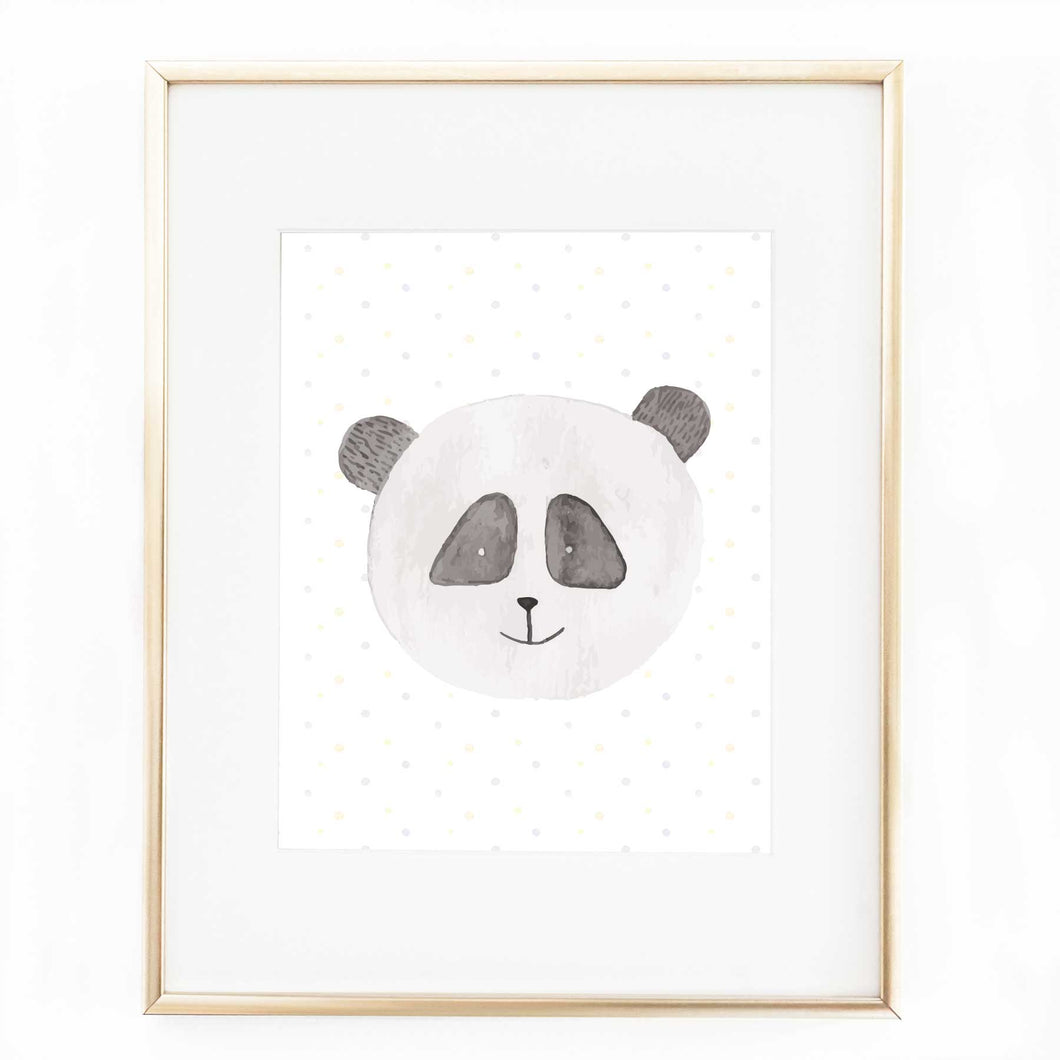 Penelope Panda Bear Printable Download