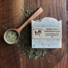 Green Tea + European Clay Soap