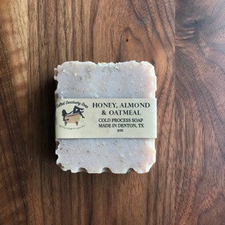 Honey, Almond & Oatmeal Soap