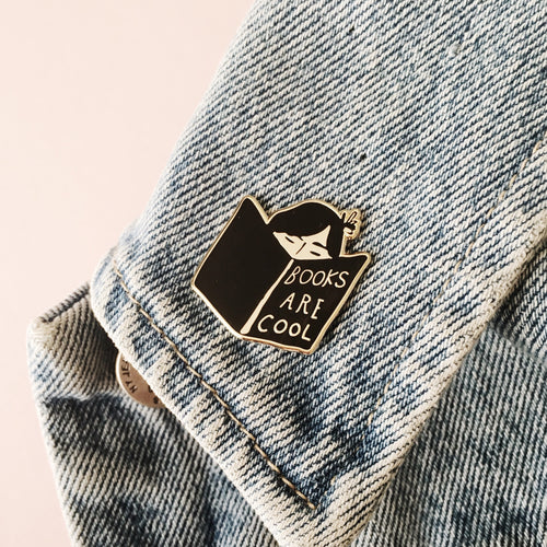 Book are cool pin
