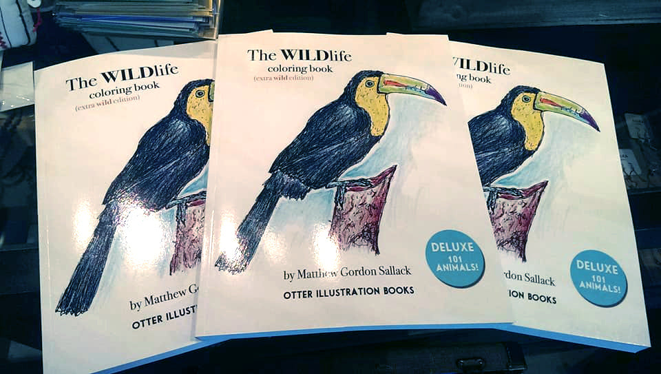 The WILDlife Coloring book