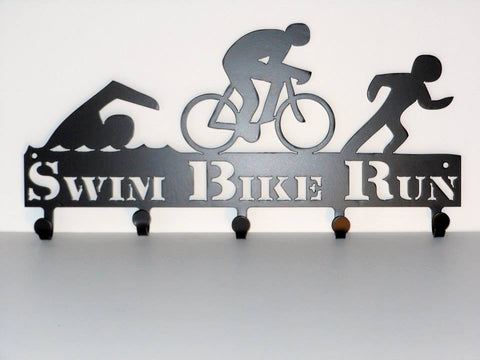 Swim Bike Run Coat Hanger