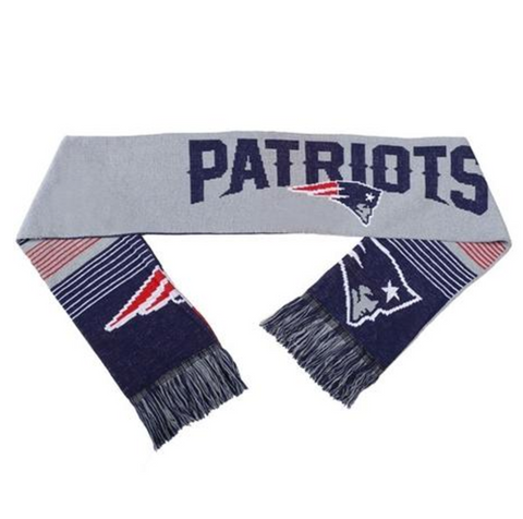 NFL New England Patriots Team Logo Knit Scarf
