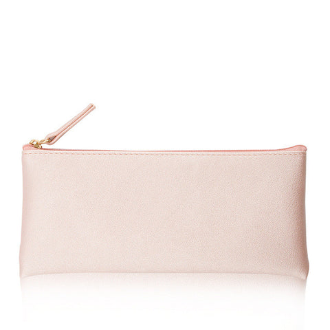 Spring Leather Pouch