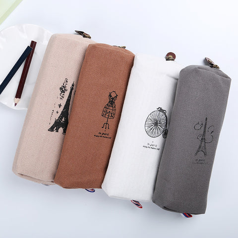 Canvas Pencil Bag