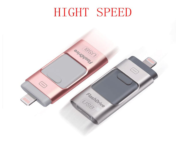 USB Flash Drives for iPhone 8GB 16GB 62GB 32GB Pen-Drive Memory Storage, Jump Drive Lightning Memory Stick External Storage, Memory Expansion for Apple IOS