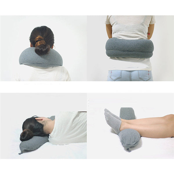 Multi-functional Neck and Waist Travel Pillow