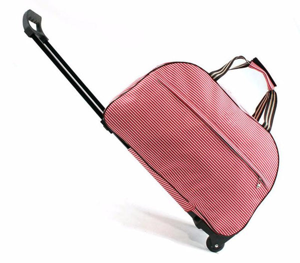 Wheeled Carry-on Luggage Rolling Duffel Tote Bag