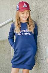 ROBE SWEATSHIRT MLLE AWESOME