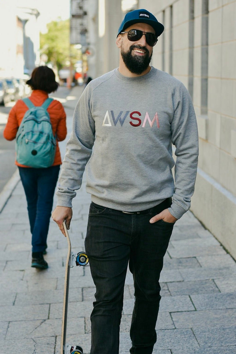ADULTE - CREWNECK SIGNATURE AWSM