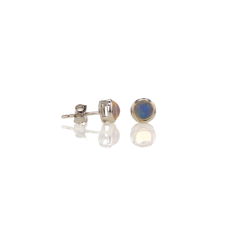 Opal Studs for October
